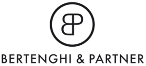 Das Logo von der Firma Bertenghi & Partner