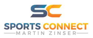 Das Logo von sports connect