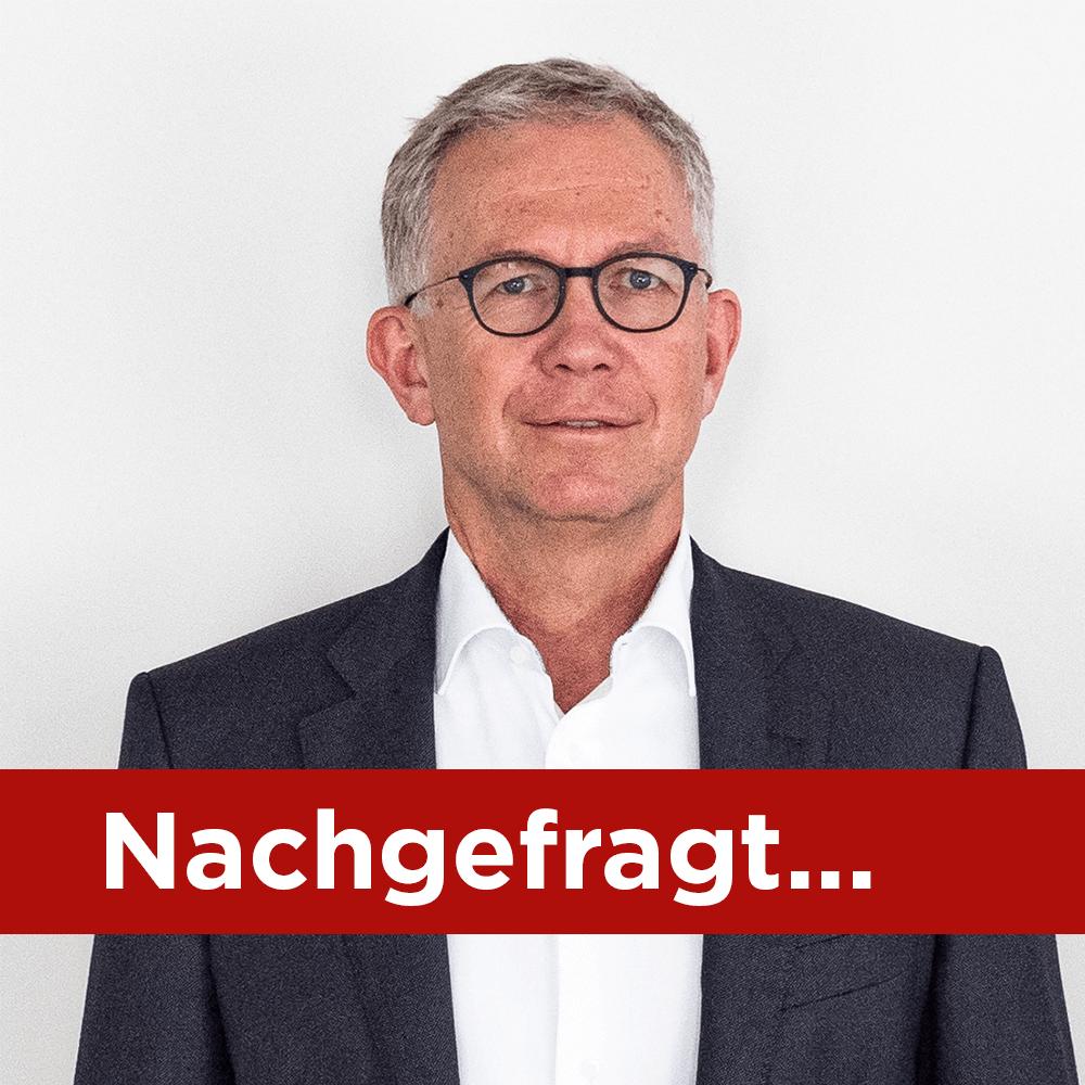 Rubrik Nachgefragt mit Jürg Altorfer