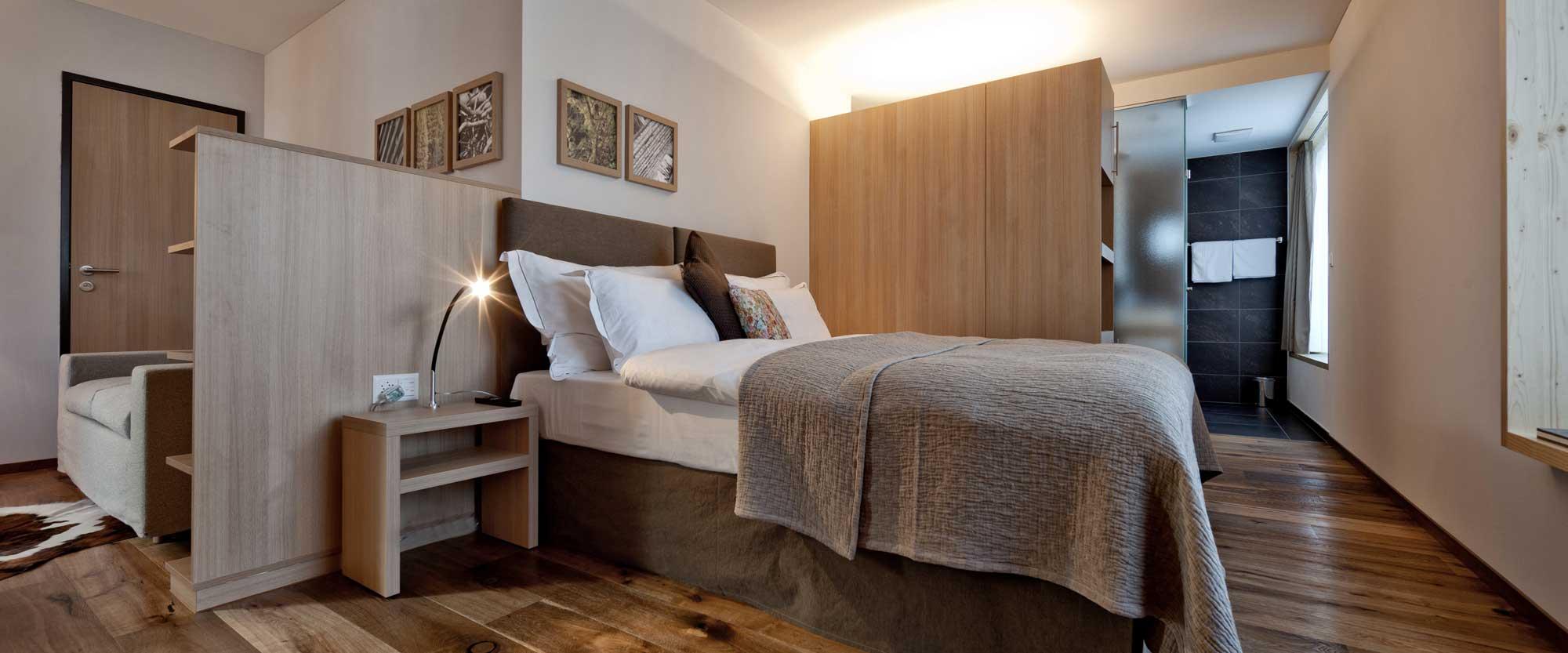 Valbella Resort Zimmer mit einem Bett